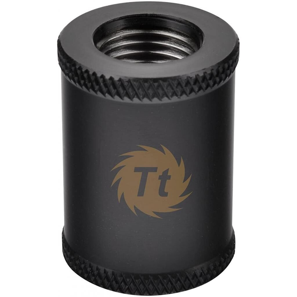 Фитинг для СВО ThermalTake Pacific G1/4 Female to Female 30mm Extender - Black (CL-W050-CU00BL-A)