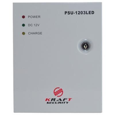 Блок питания для систем видеонаблюдения Kraft Energy PSU-1203LED