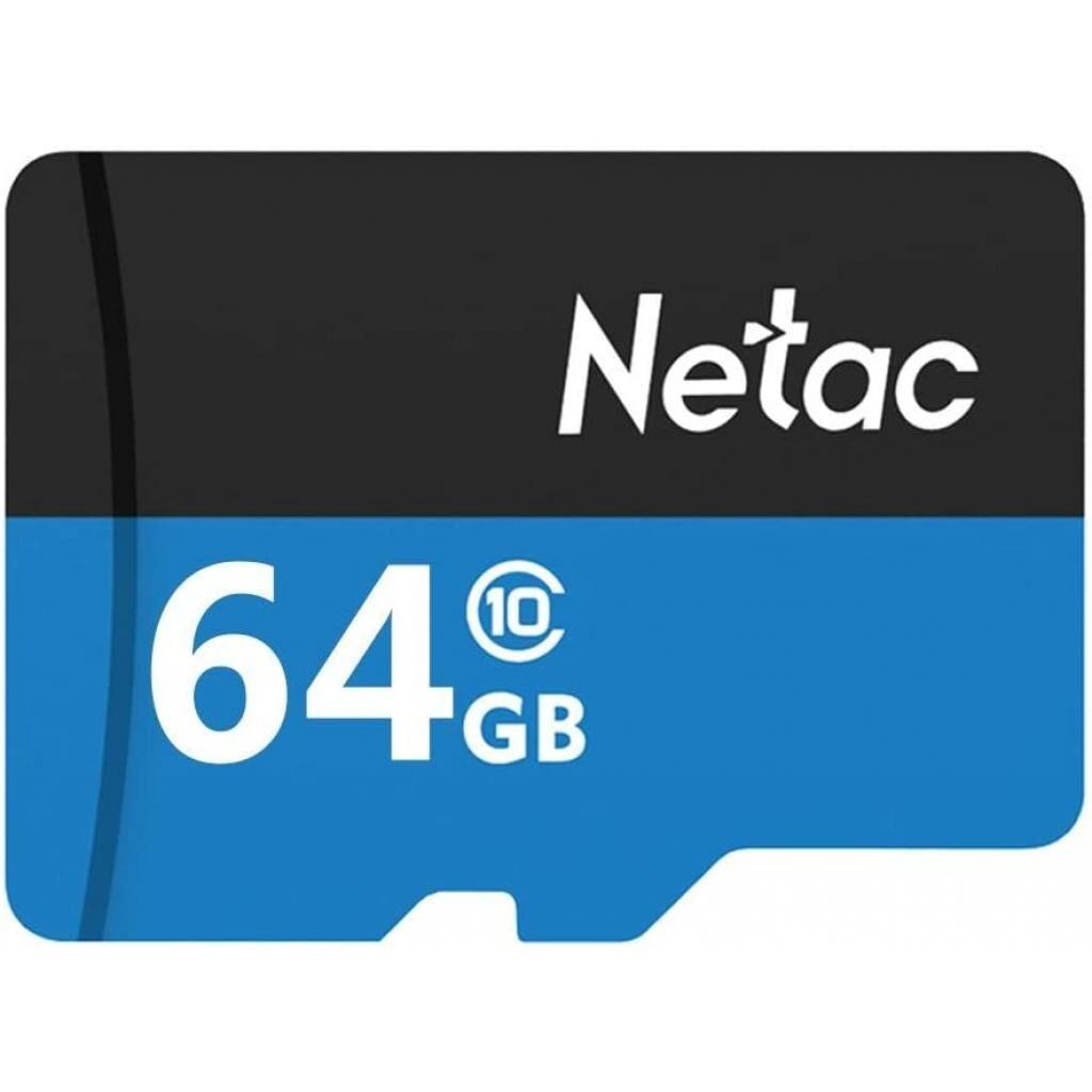 Карта памяти Netac 64GB microSD class 10 UHS-I U1 (NT02P500STN-064G-R)