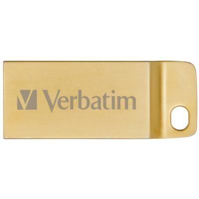 USB флеш накопитель Verbatim 32GB Metal Executive Gold USB 3.0 (99105)
