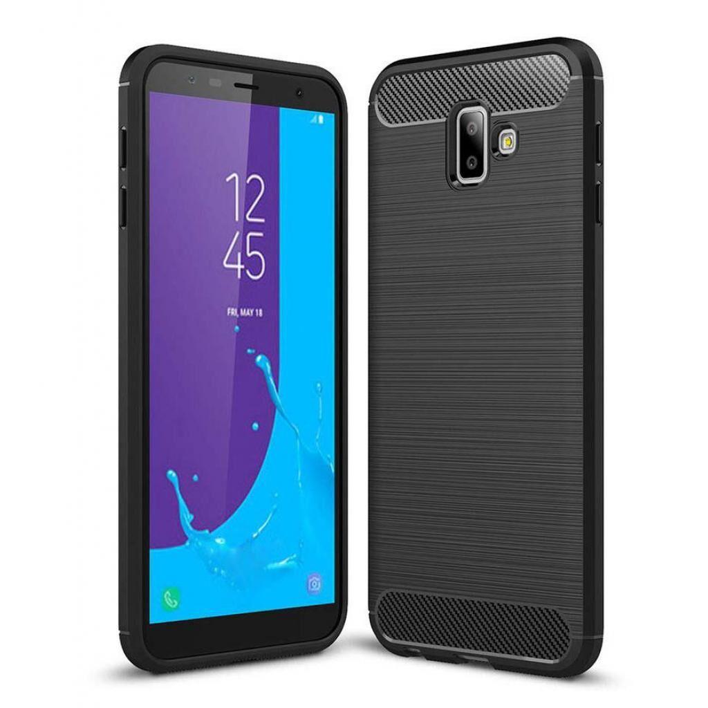 Чехол для моб. телефона Laudtec для Samsung J6 Plus/J610 Carbon Fiber (Black) (LT-J610F)