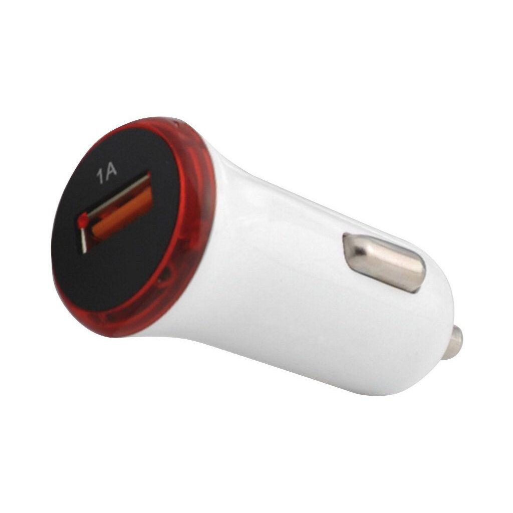 Зарядное устройство ColorWay 1USB 1A white (CW-CHA001-WT)