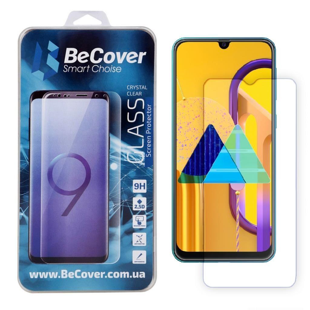 Стекло защитное BeCover Samsung Galaxy M31 SM-M315 Crystal Clear Glass (704725)