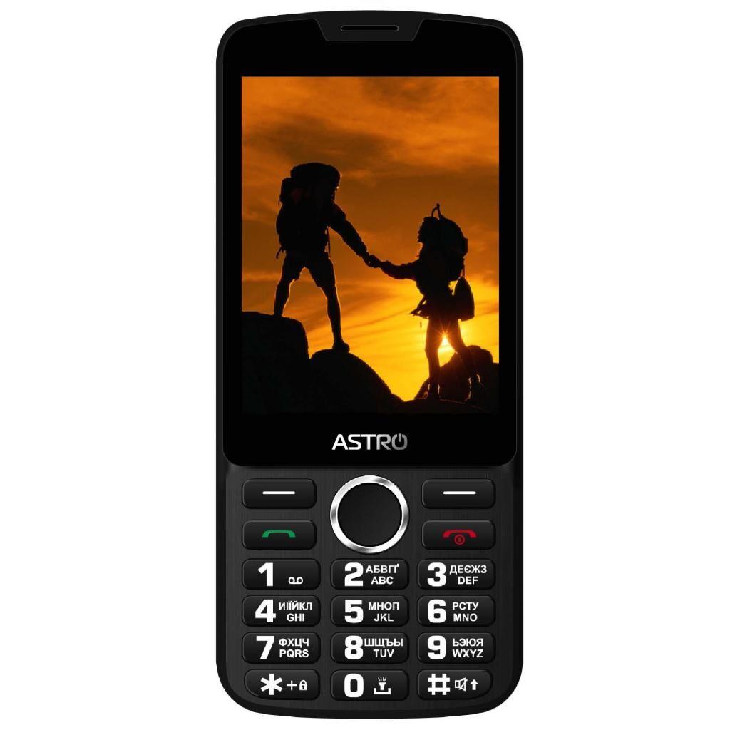 Мобильный телефон Astro A167 Black Red