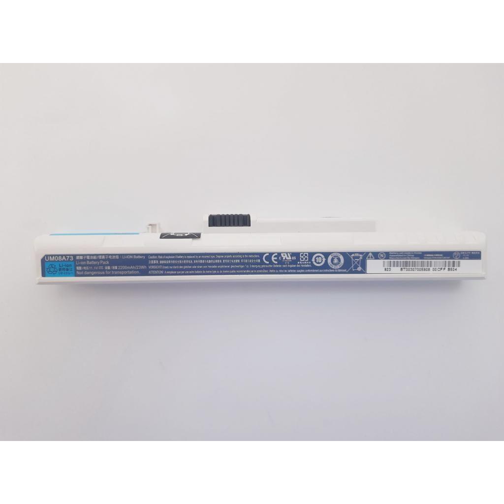 Аккумулятор для ноутбука Acer UM08A31, 2200mAh (23Wh), 3cell, 11.1V, Li-ion, White (A47532)