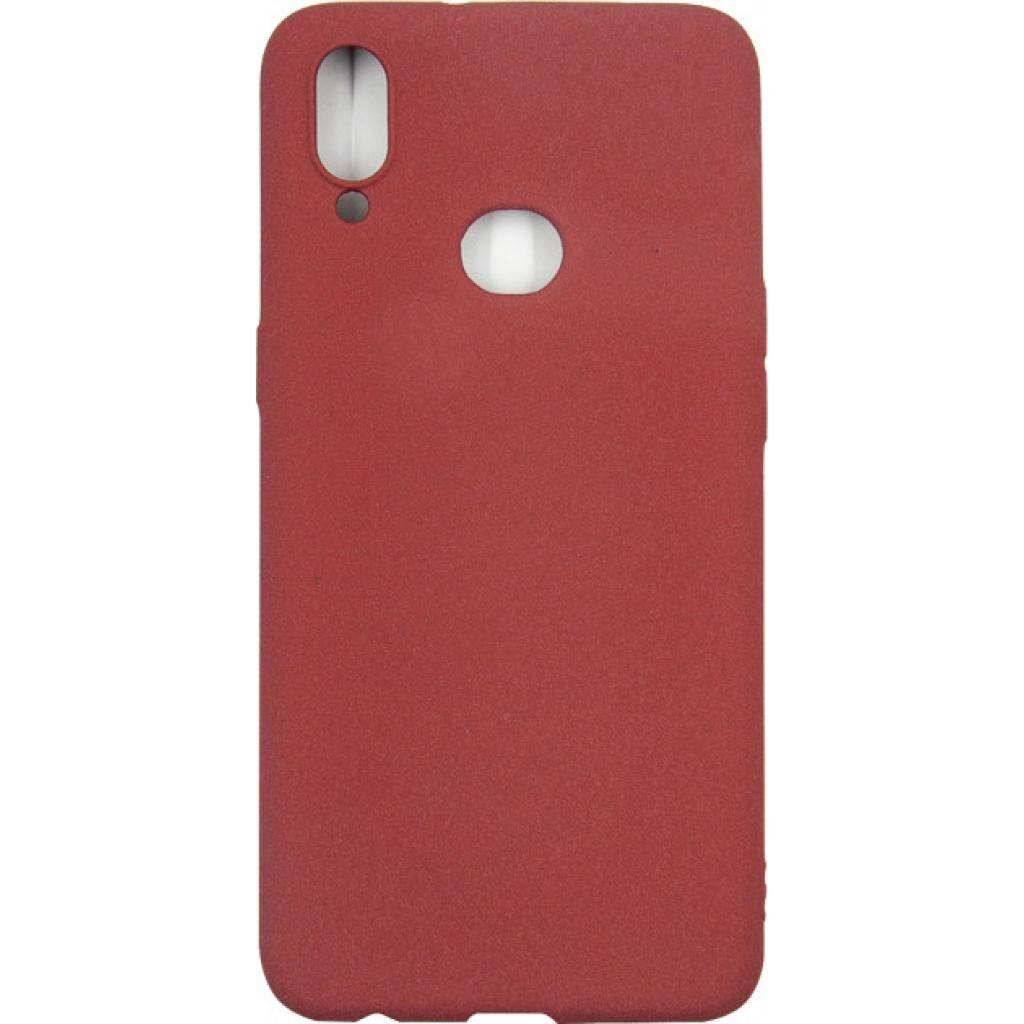 Чехол для моб. телефона Dengos Carbon Samsung Galaxy A10s, red (DG-TPU-CRBN-02)