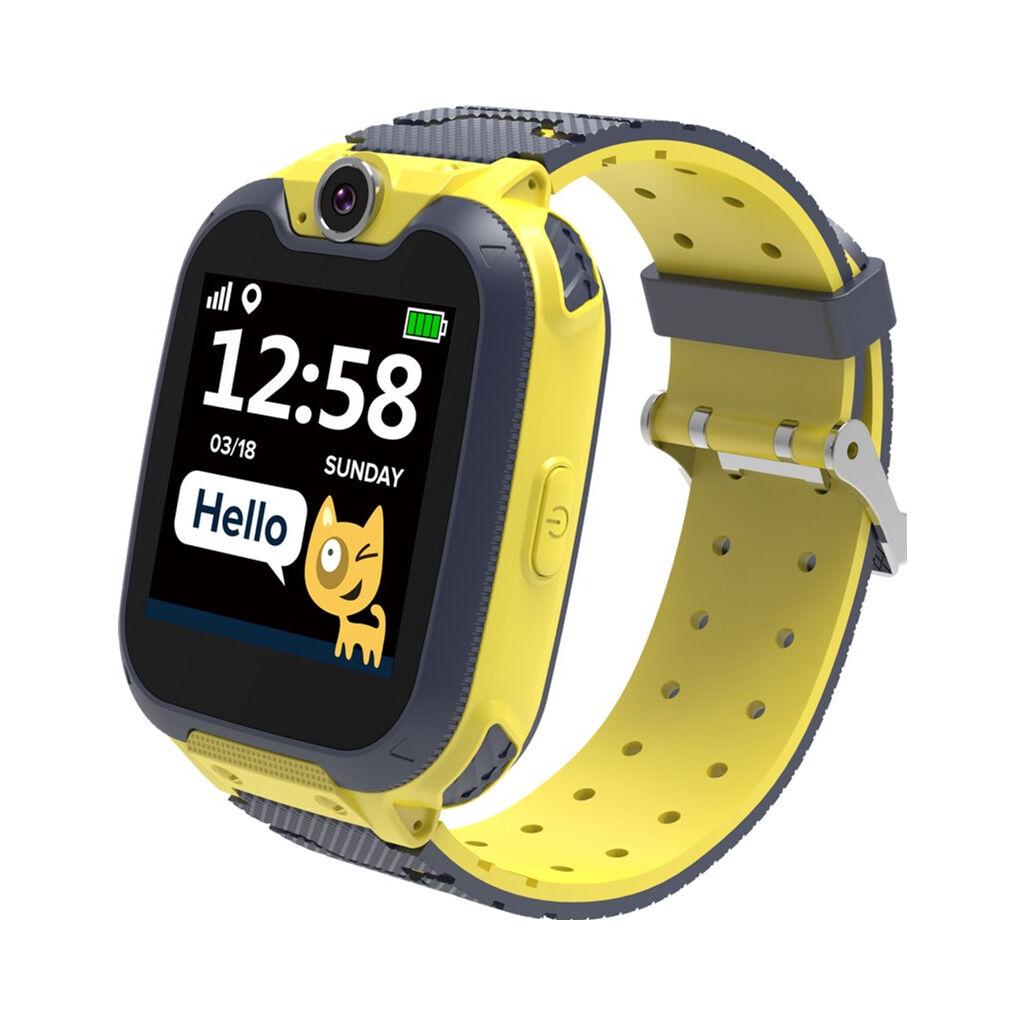 Смарт-часы Canyon CNE-KW31BB Kids smartwatch Tony, Yellow-Grey (CNE-KW31YB)
