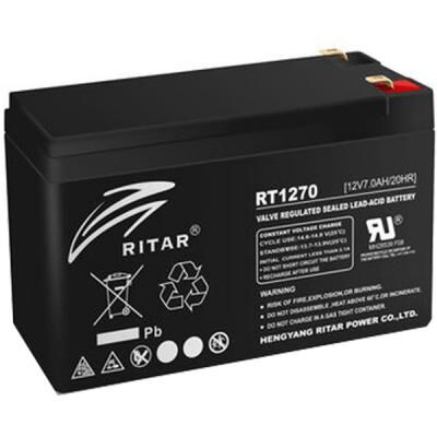 Батарея к ИБП Ritar AGM RT1270B, 12V-7Ah (RT1270B)