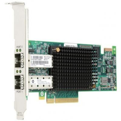 Контроллер HP StoreFabric SN1100Q 16Gb Dual Port FC HBA (P9D94A)