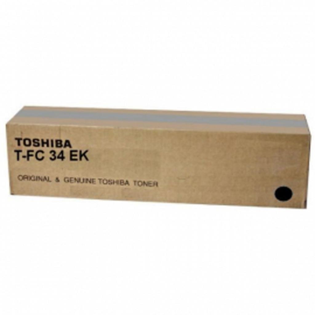 Тонер-картридж Toshiba T-FC34EK 15K BLACK, для e-STUDIO 247, 287c 287, 347, 407 (6A000001783)