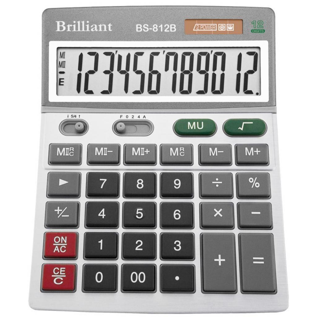 Калькулятор Brilliant BS-812 (S/B) (BS-812)
