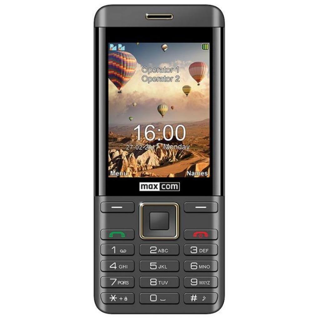Мобильный телефон Maxcom MM236 Black-Gold (5908235974088)