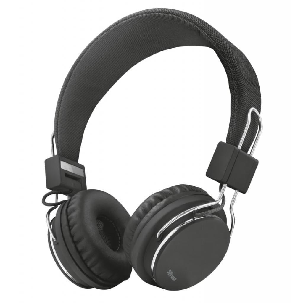 Наушники Trust Ziva On-Ear Mic Black (21821)