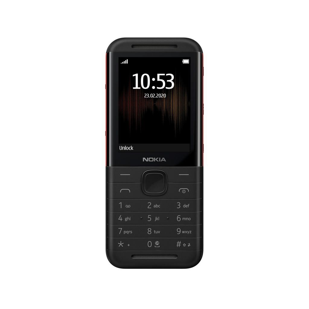 Мобильный телефон Nokia 5310 DS Black-Red