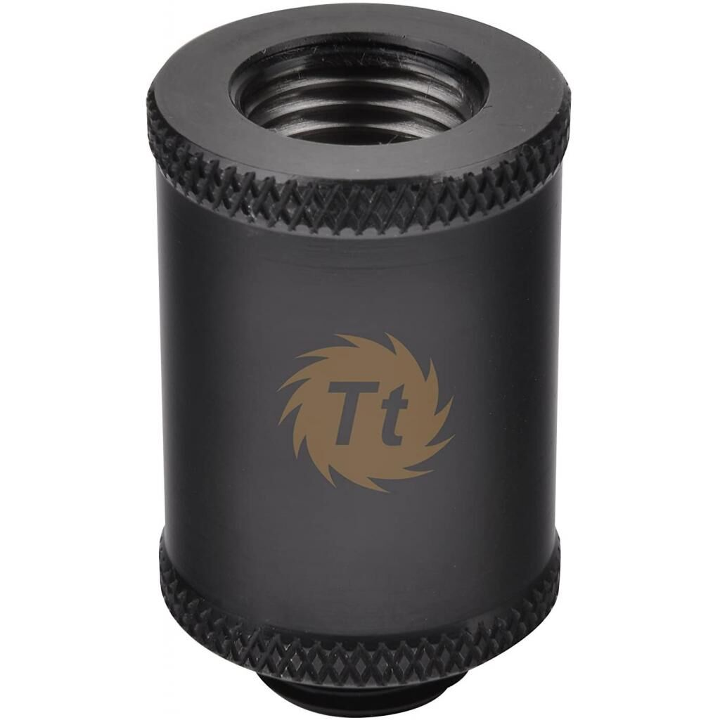Фитинг для СВО ThermalTake Pacific G1/4 Female to Male 30mm Extender - Black (CL-W047-CU00BL-A)