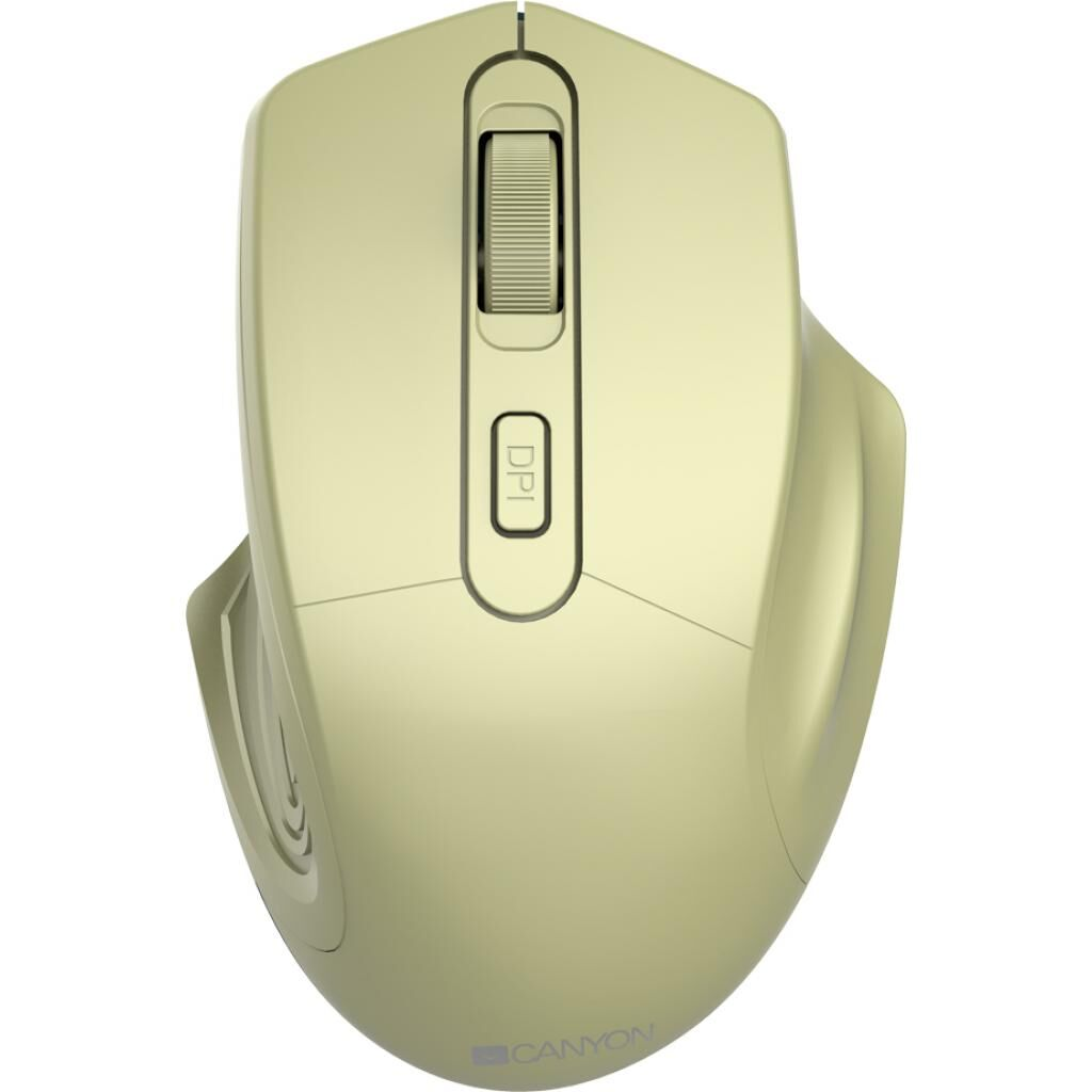 Мышка CANYON MW-15 Wireless Golden (CNE-CMSW15GO)
