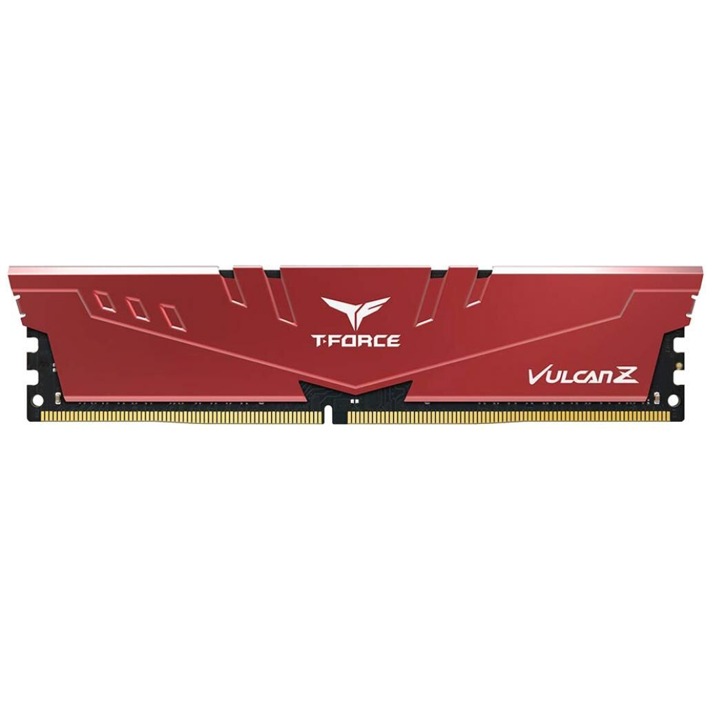 Модуль памяти для компьютера DDR4 8GB 3200 MHz T-Force Vulcan Z Red Team (TLZRD48G3200HC16C01)