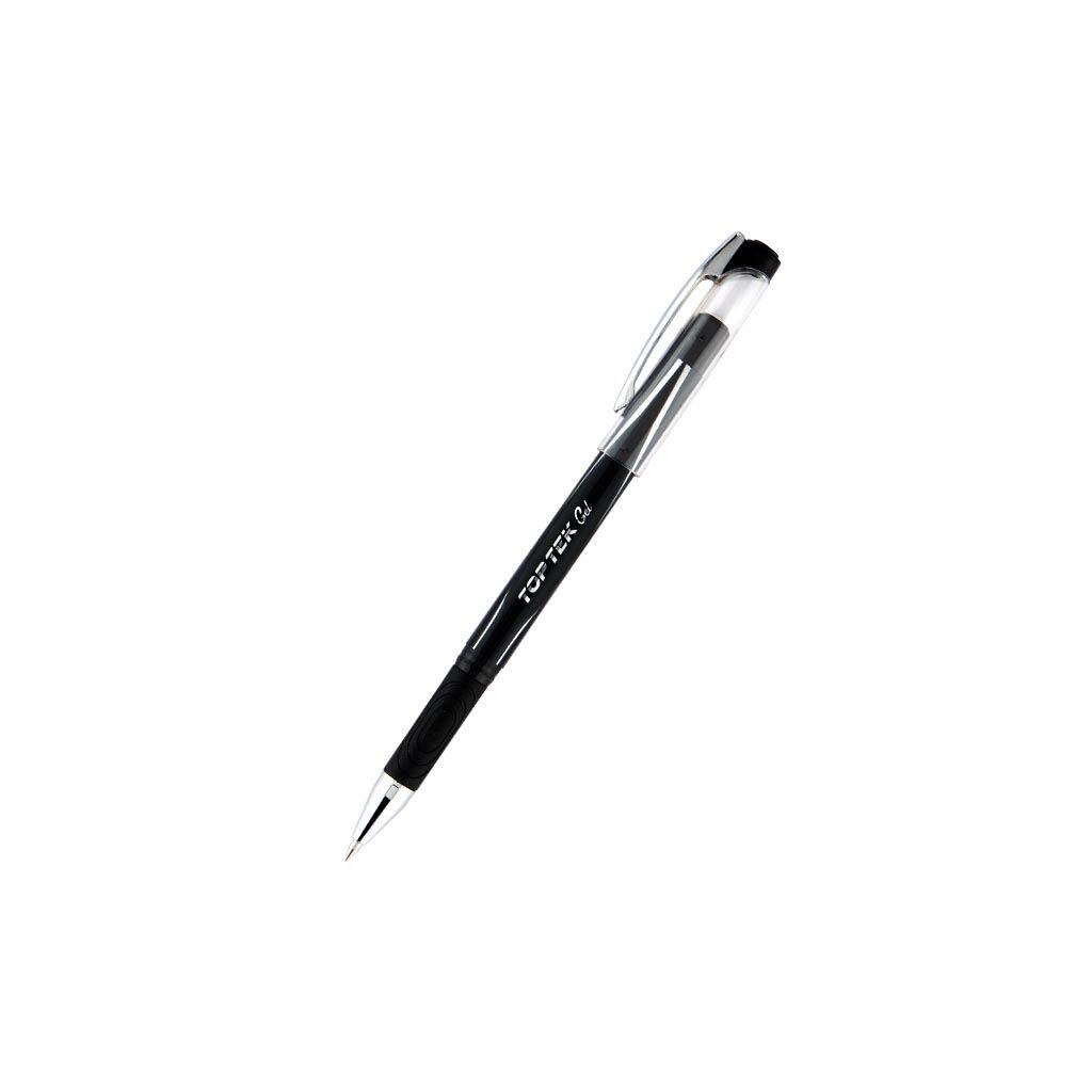 Ручка гелевая Unimax Top Tek Gel, черная (UX-133-01)