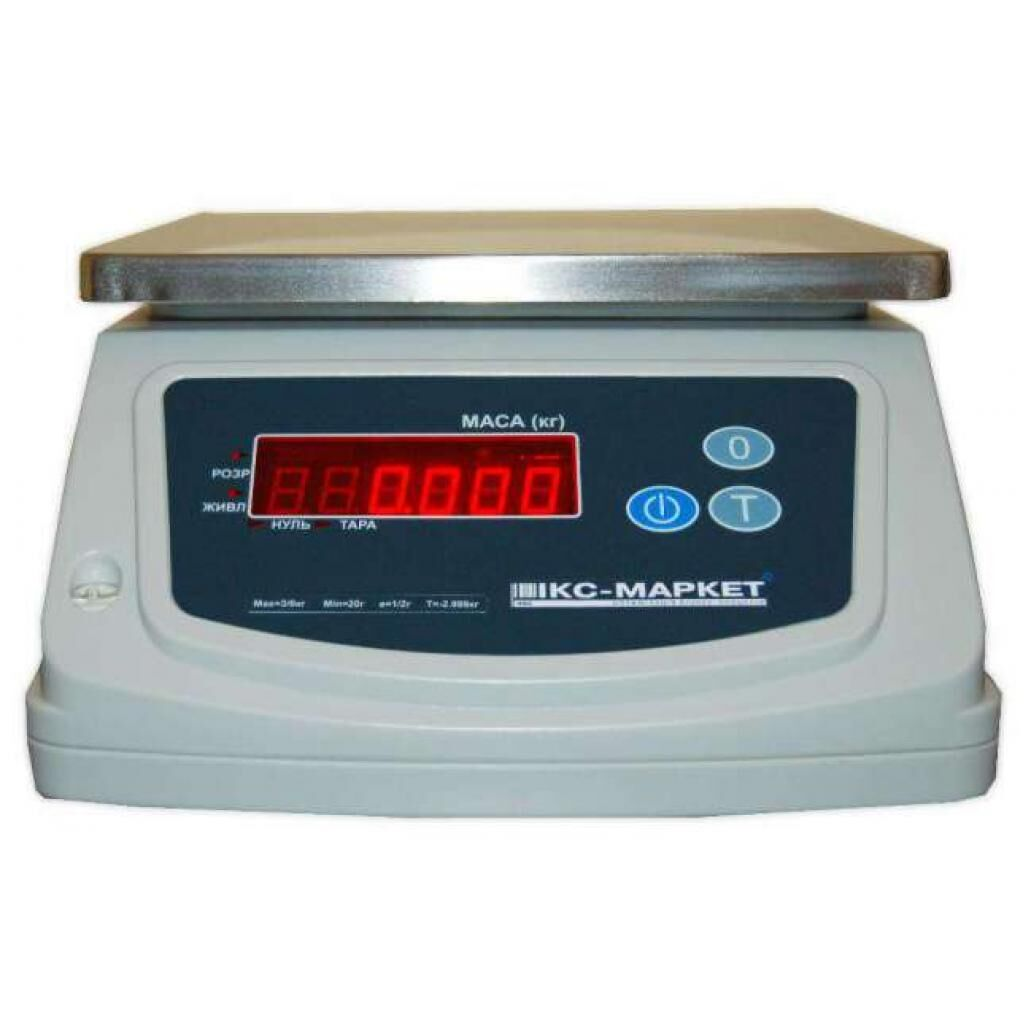Весы ИКС-Маркет ICS-6 PW (ICS-6PW)