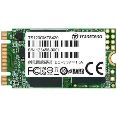 Накопитель SSD M.2 2242 120GB Transcend (TS120GMTS420S)