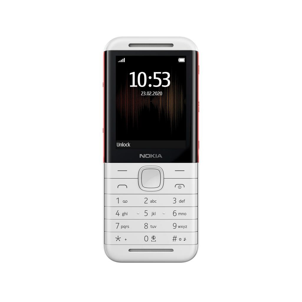Мобильный телефон Nokia 5310 DS White-Red