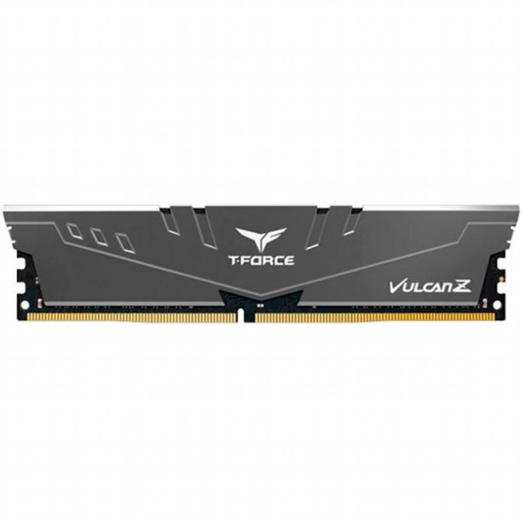 Модуль памяти для компьютера DDR4 8GB 3200 MHz T-Force Vulcan Z Gray Team (TLZGD48G3200HC16C01)
