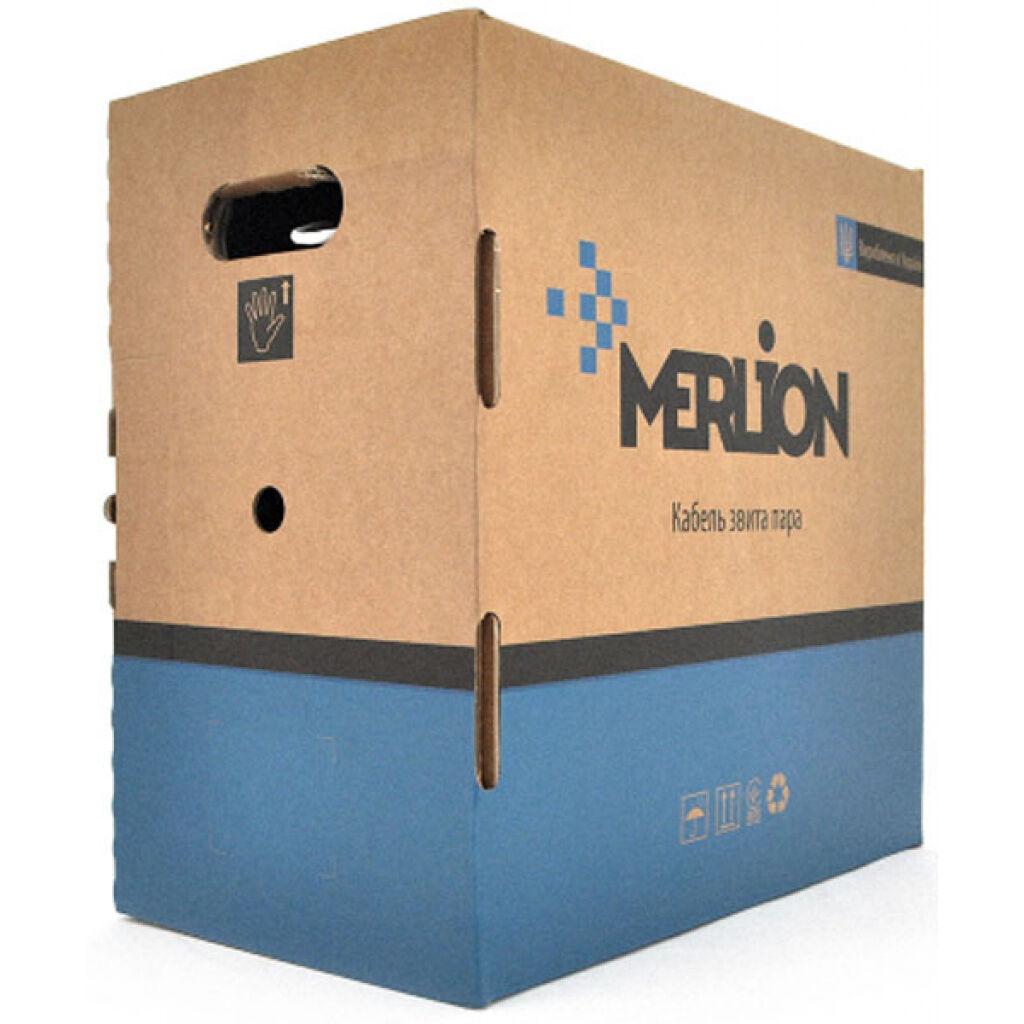 Кабель сетевой Merlion FTP 305м КВПЭ 4*2*0,54, cat.6 [СCA] (07023)