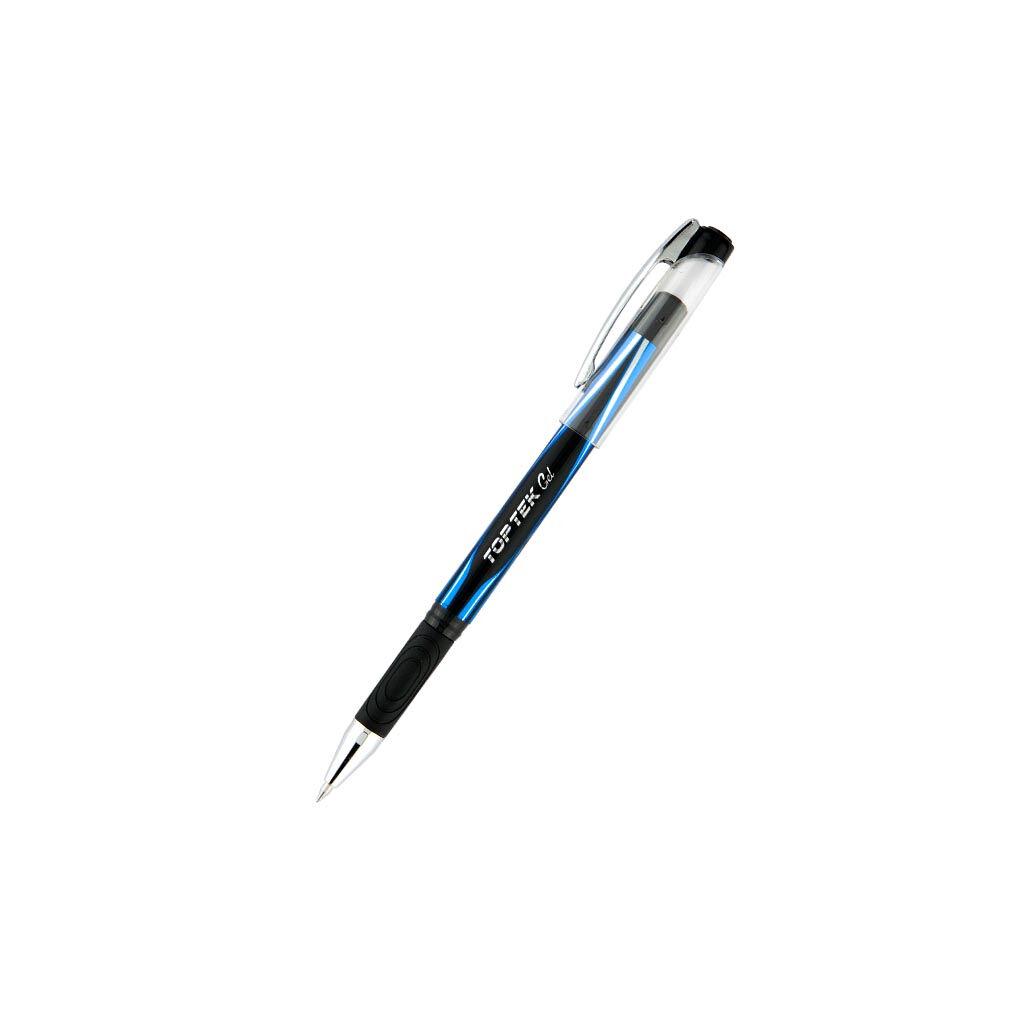 Ручка гелевая Unimax Top Tek Gel, синяя (UX-133-02)