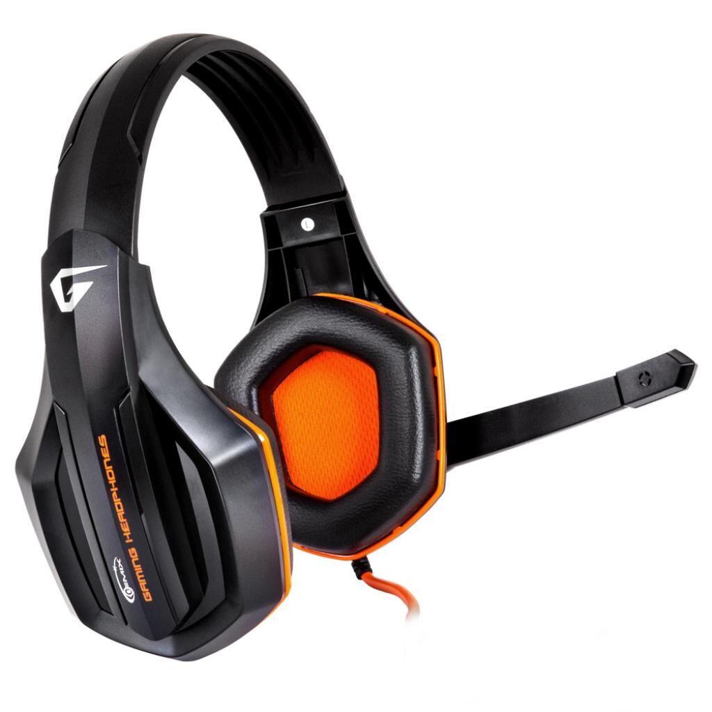 Наушники GEMIX W-330 black-orange