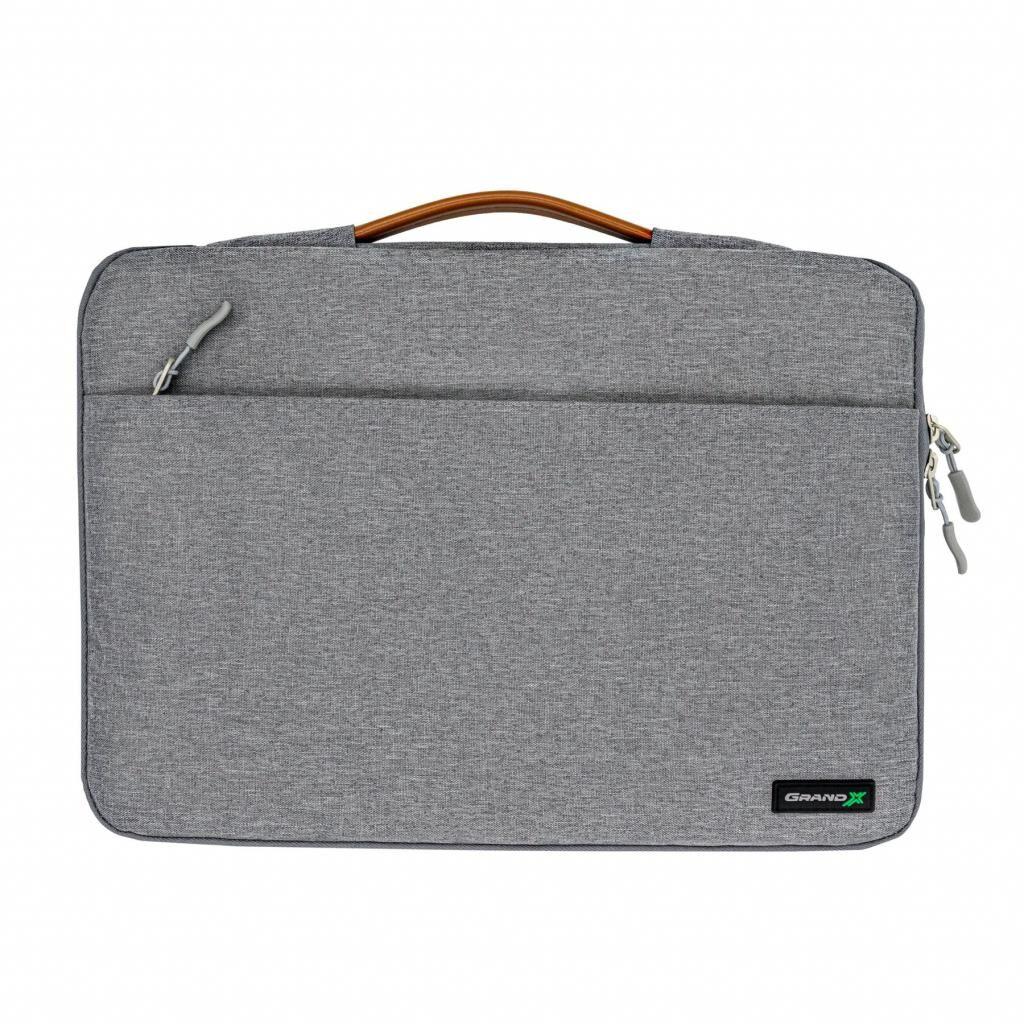 Чехол для ноутбука Grand-X 15'' SLX Grey (SLX-15G)