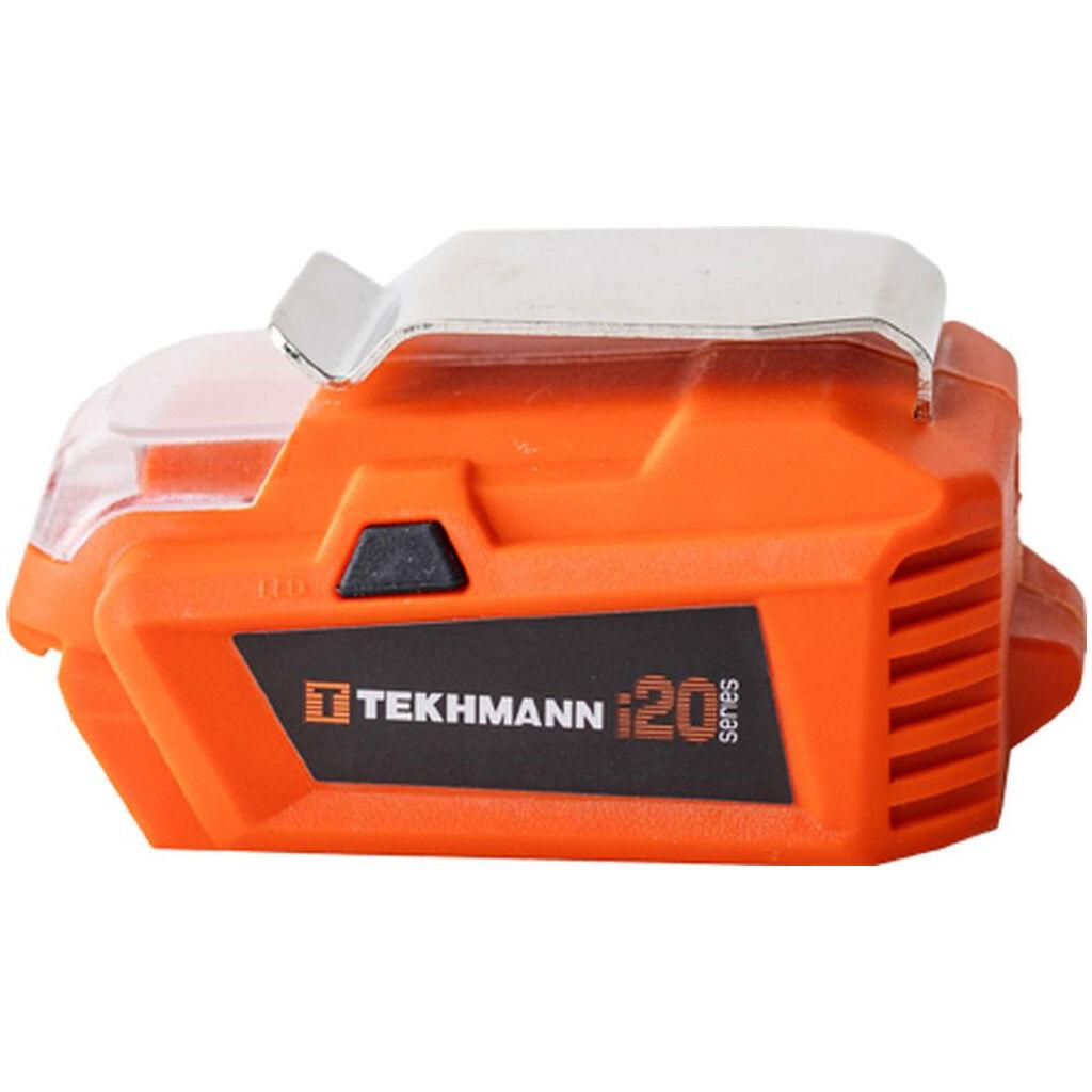 Зарядное устройство для аккумуляторов инструмента Tekhmann к аккумуляторной батарее TCP-6/i20 (850189)
