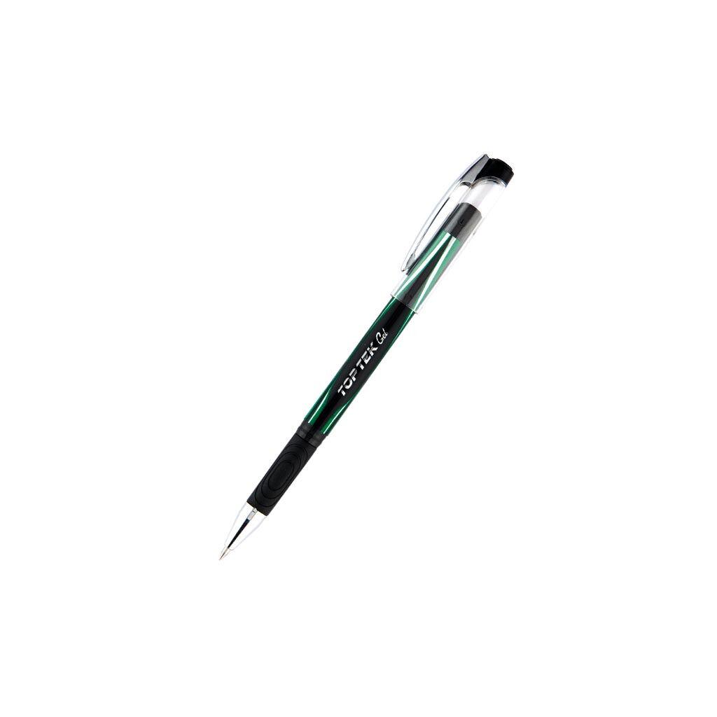 Ручка гелевая Unimax Top Tek Gel, зеленый (UX-133-04)
