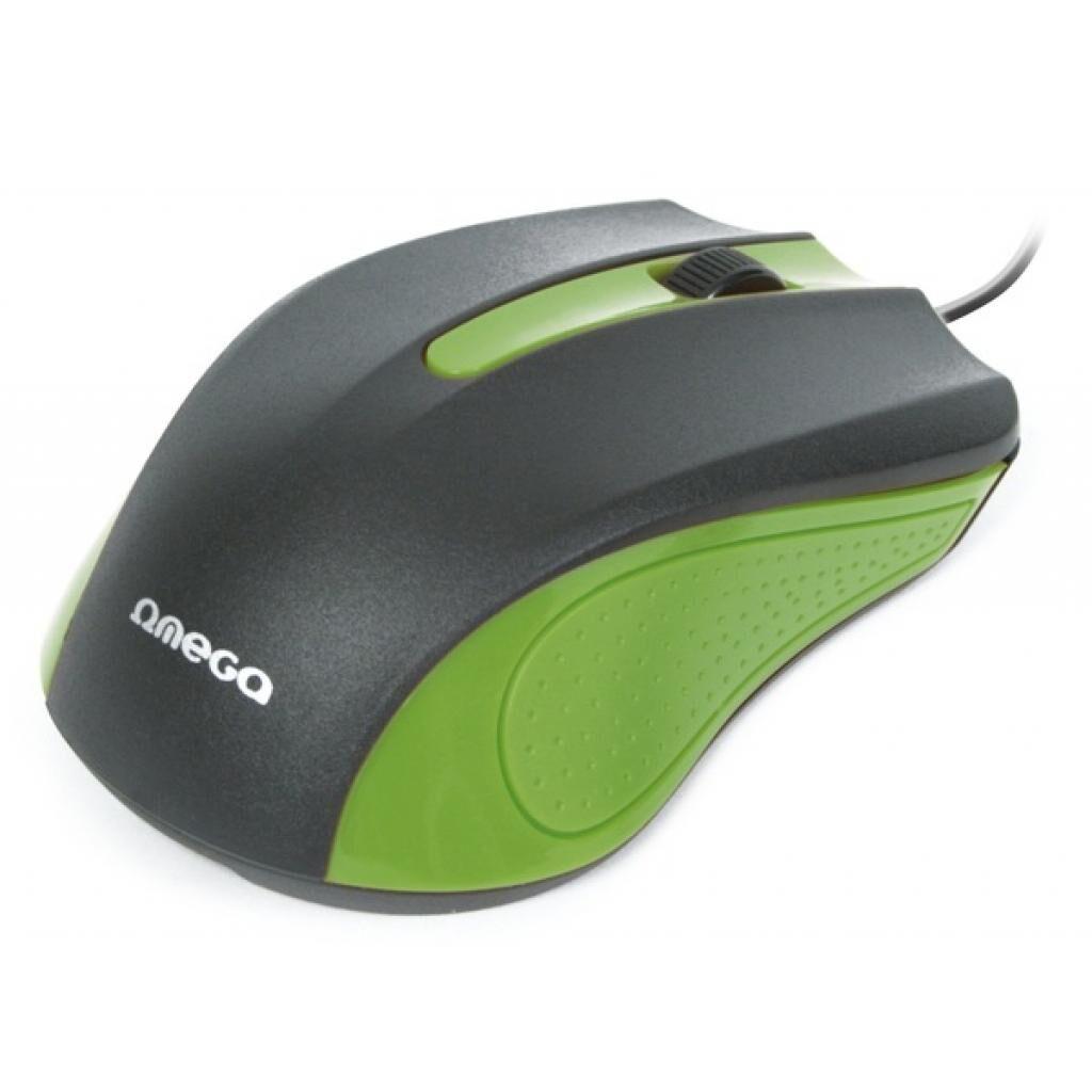 Мышка OMEGA OM05G optical green (OM05G)