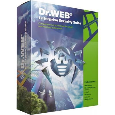 Антивирус Dr. Web Mail Security Suite + ЦУ 14 ПК 1 год эл. лиц. (LBP-AC-12M-14-A3)
