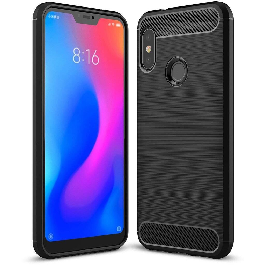 Чехол для моб. телефона Laudtec для Xiaomi Redmi Note 6 Pro Carbon Fiber (Black) (LT-XRN6P)