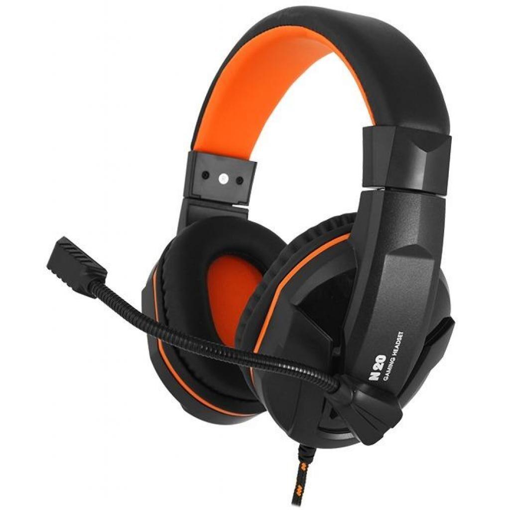 Наушники GEMIX N20 Black-Orange Gaming