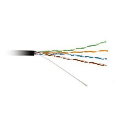 Кабель сетевой Atcom UTP 305м cat.6, CCA, 0,51мм, 1Gb/s, внешний (88414)
