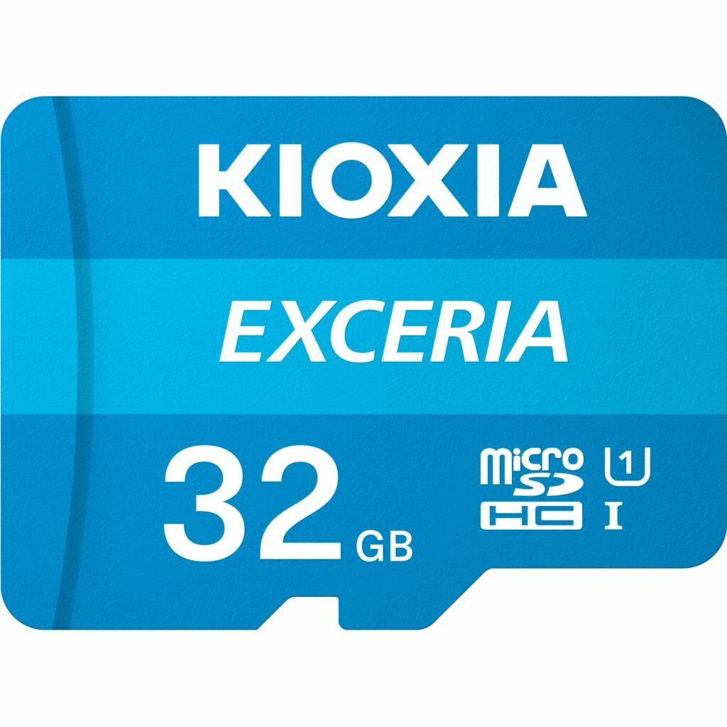 Карта памяти KIOXIA 32GB microSDHC class 10 UHS-I Exceria (LMEX1L032GG2)