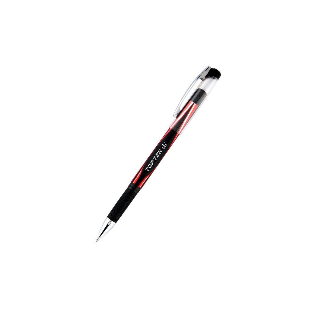 Ручка гелевая Unimax Top Tek Gel, красная (UX-133-06)