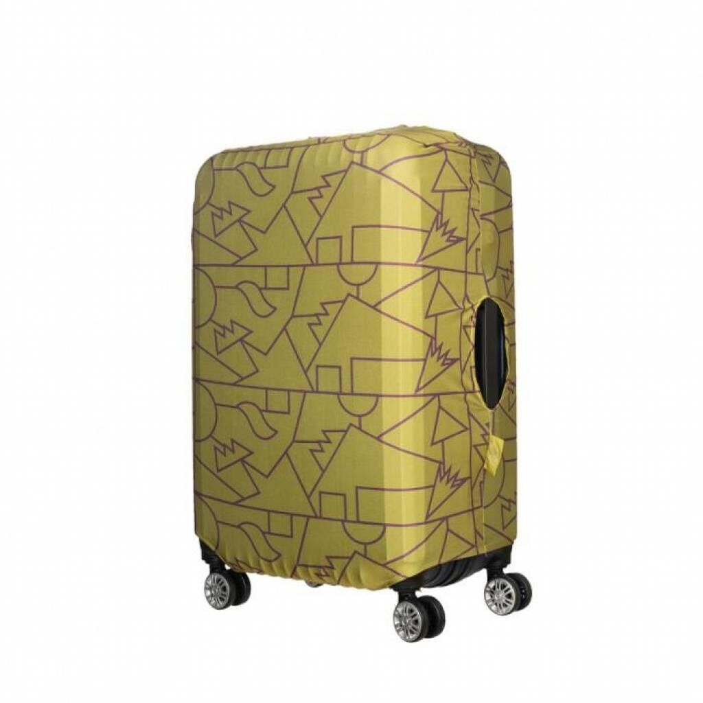 Чехол для чемодана Tucano Compatto Mendini M Lime (BPCOTRC-MENDINI-M-VA)