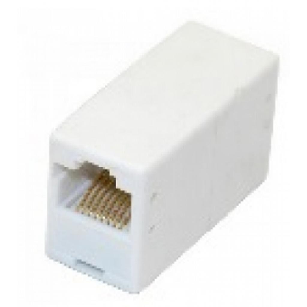 Сращиватель 1+1 RJ45 UTP 5e, White Merlion (11445)