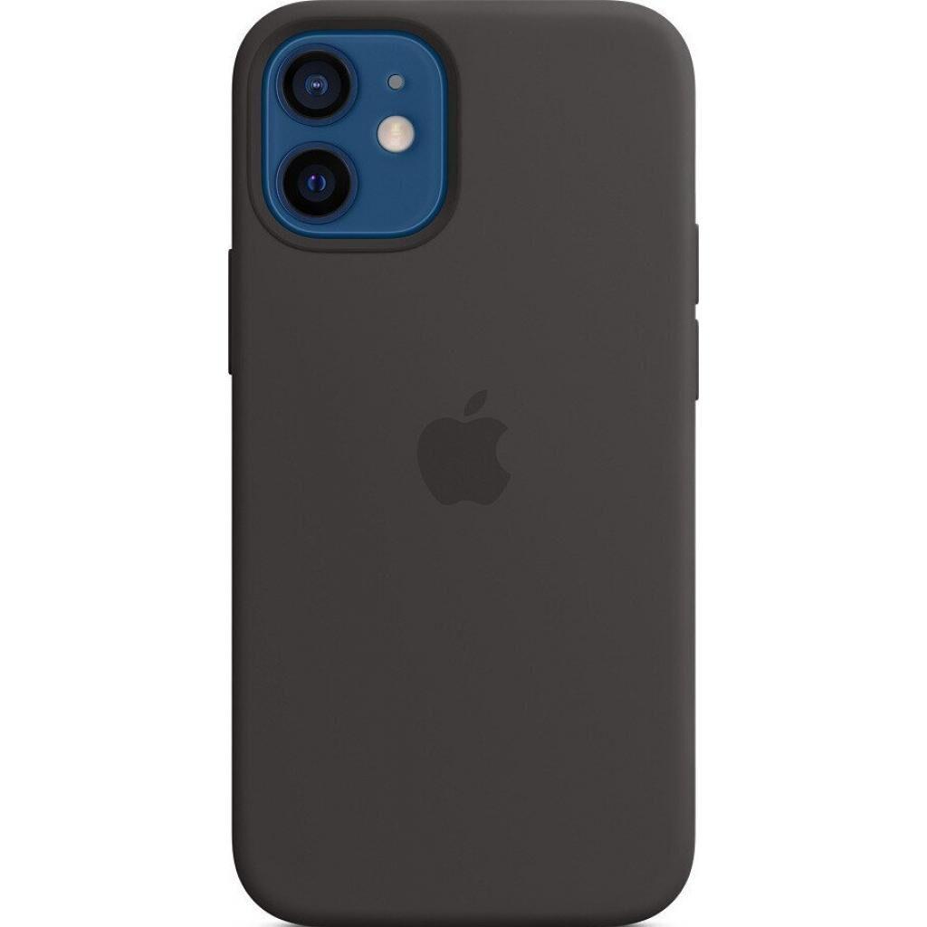 Чехол для моб. телефона Apple iPhone 12 mini Silicone Case with MagSafe - Black (MHKX3ZE/A)