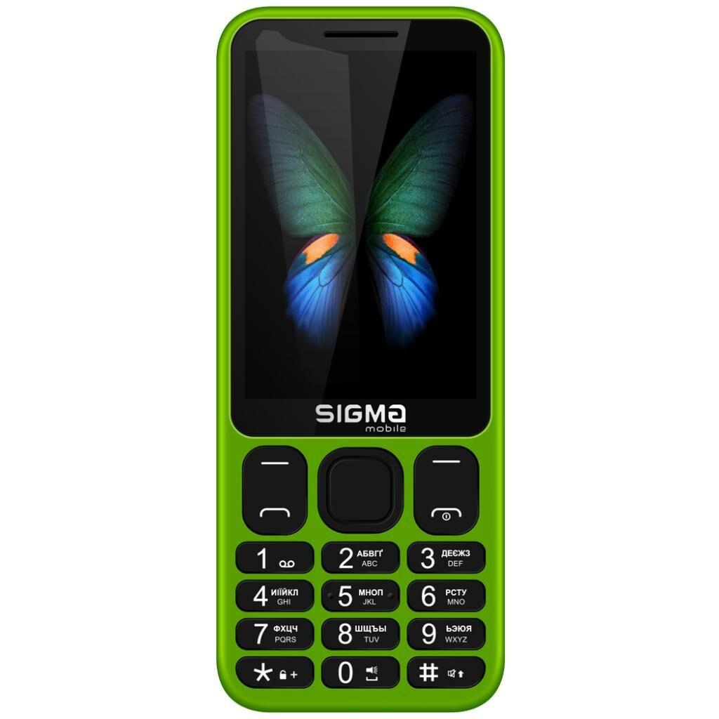Мобильный телефон Sigma X-style 351 LIDER Green (4827798121924)
