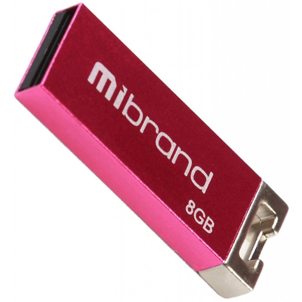 USB флеш накопитель Mibrand 8GB Сhameleon Pink USB 2.0 (MI2.0/CH8U6P)