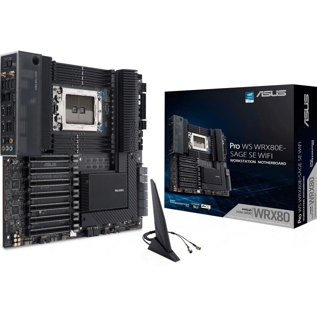 Серверная материнская плата ASUS Pro WS WRX80E-SAGE SE WIFI
