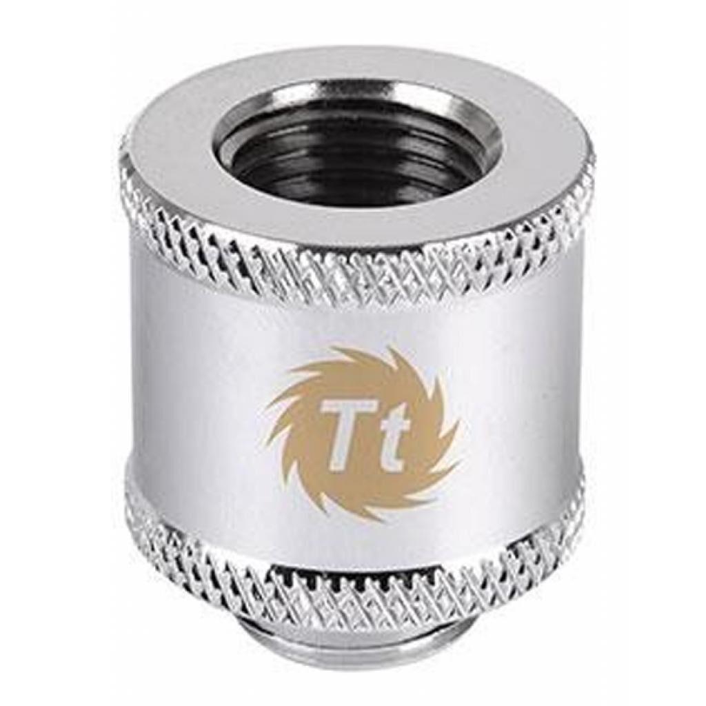 Фитинг для СВО ThermalTake Pacific G1/4 Female to Male 20mm extender - Chrome/DIY LCS (CL-W046-CU00SL-A)
