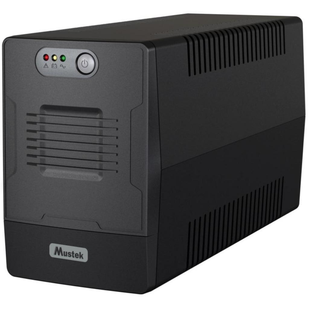 Источник бесперебойного питания Mustek PowerMust 1500 LI (1500-LED-LI-T10)