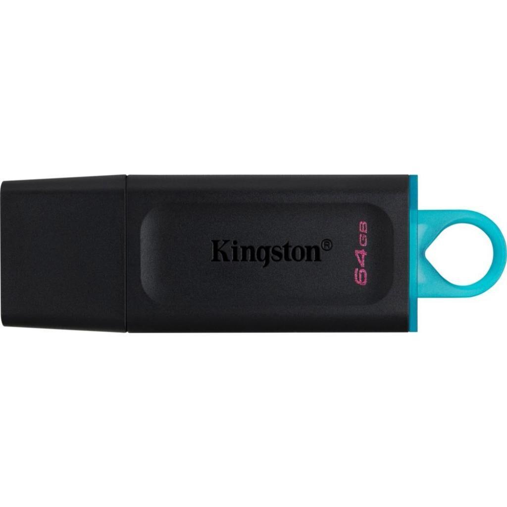 USB флеш накопитель Kingston 64GB DataTraveler Exodia Black/Teal USB 3.2 (DTX/64GB)