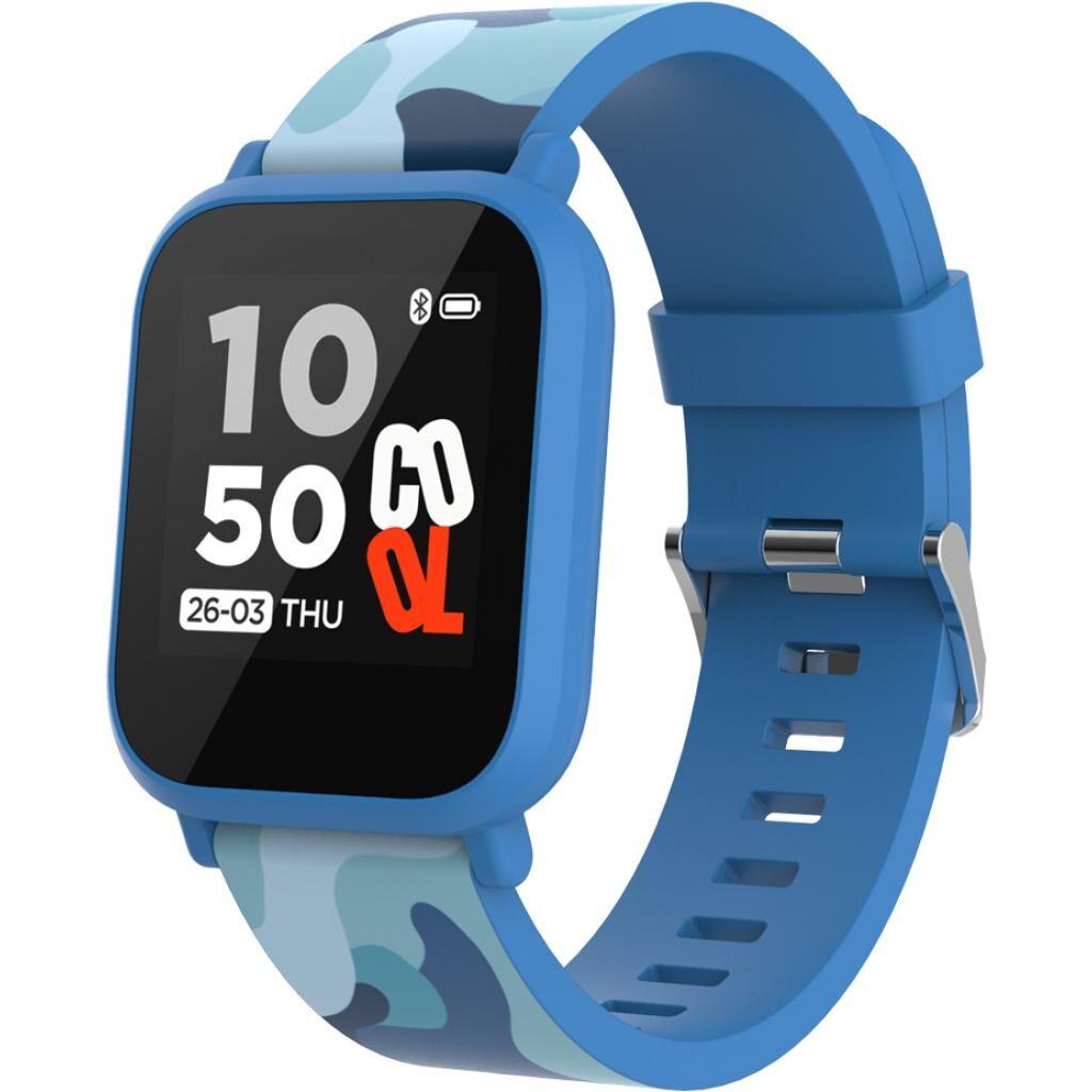 Смарт-часы CANYON CNE-KW33BL Kids smartwatch Blue camouflage (CNE-KW33BL)