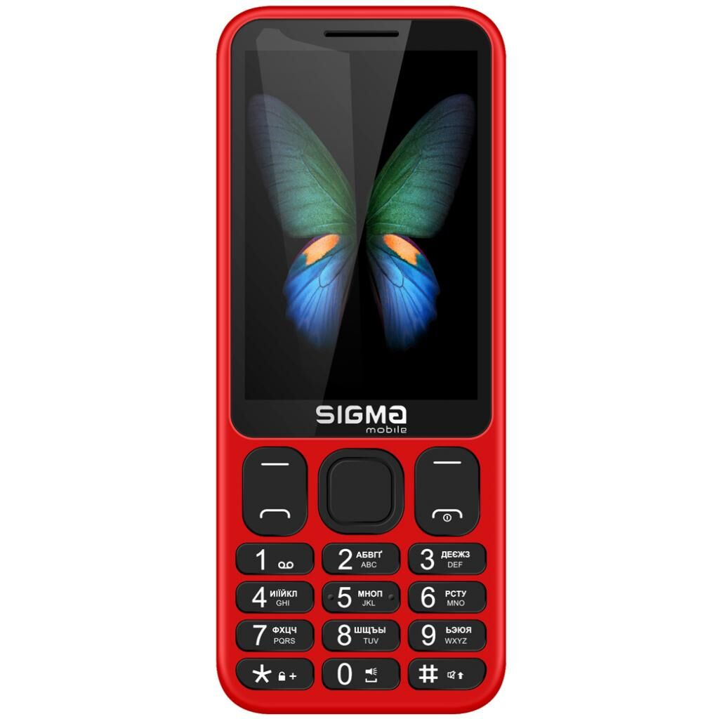 Мобильный телефон Sigma X-style 351 LIDER Red (4827798121948)